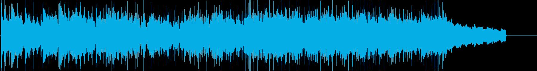 スイーツレシピ動画をイメージしたインストの再生済みの波形