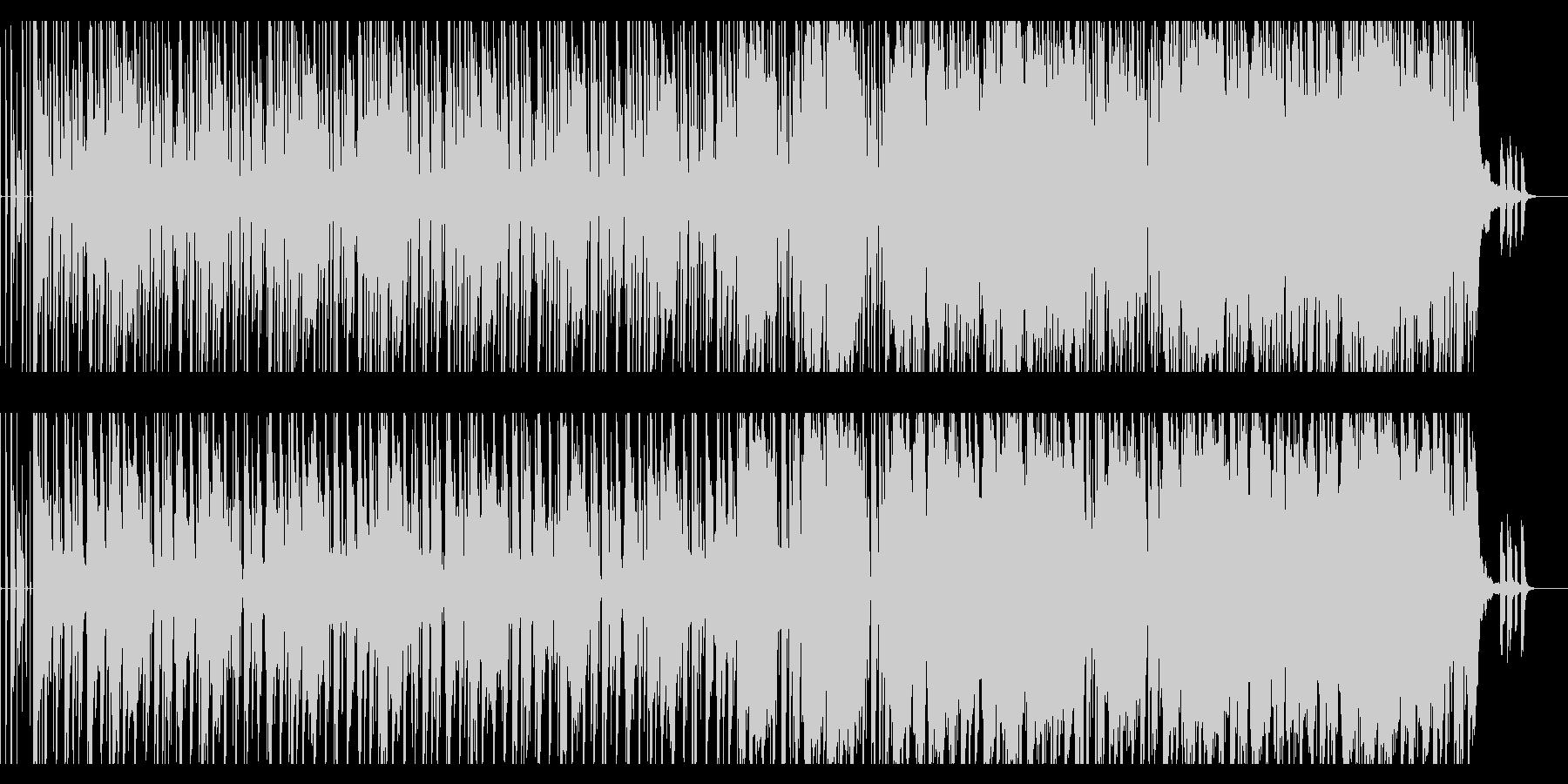 【短いVer4】70年代ファンクロック風の未再生の波形