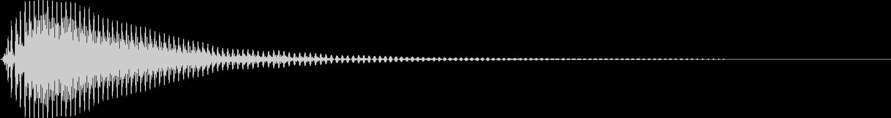 ぽん!(つづみ・和太鼓)の未再生の波形