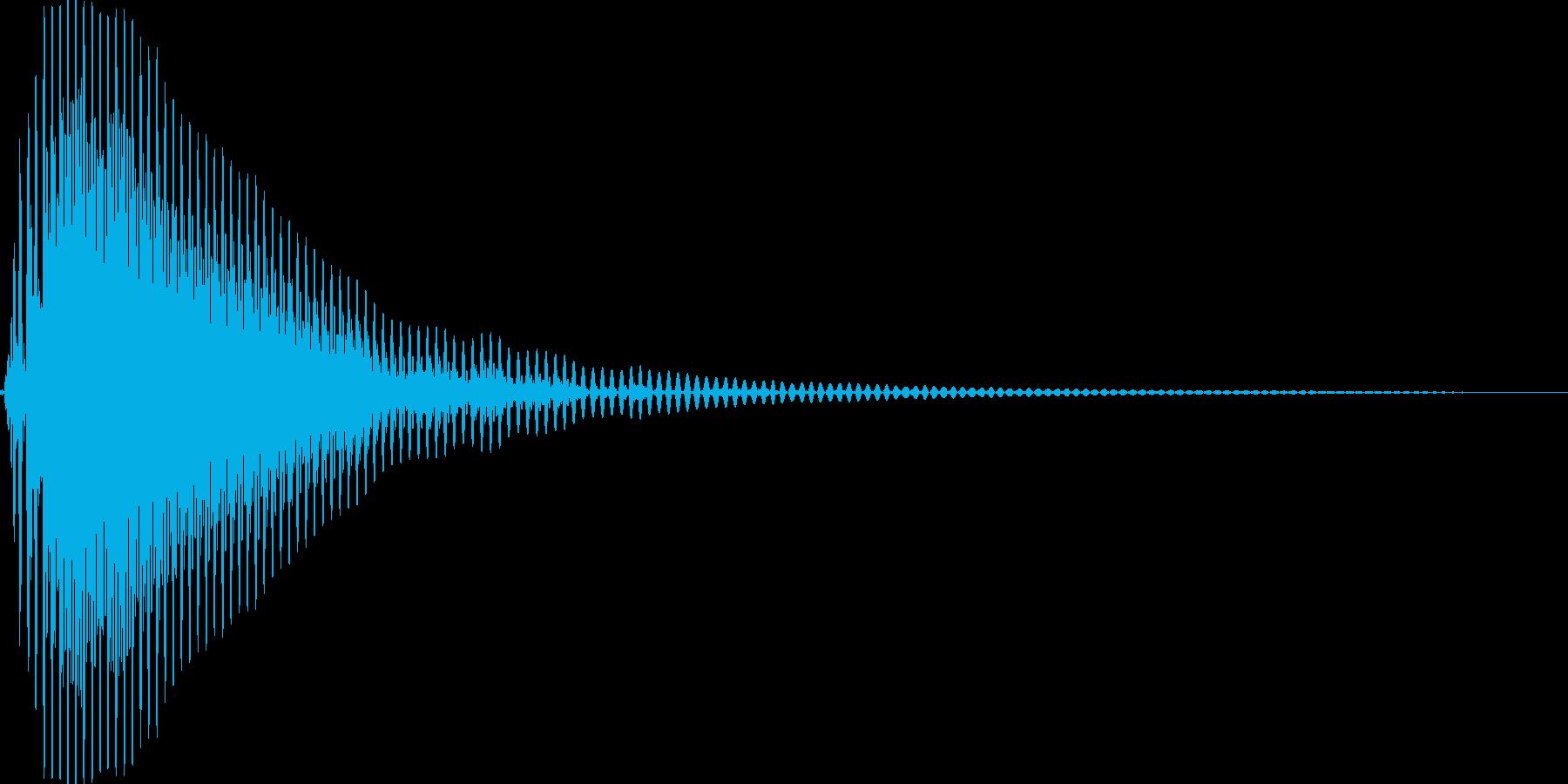 ぽん!(つづみ・和太鼓)の再生済みの波形