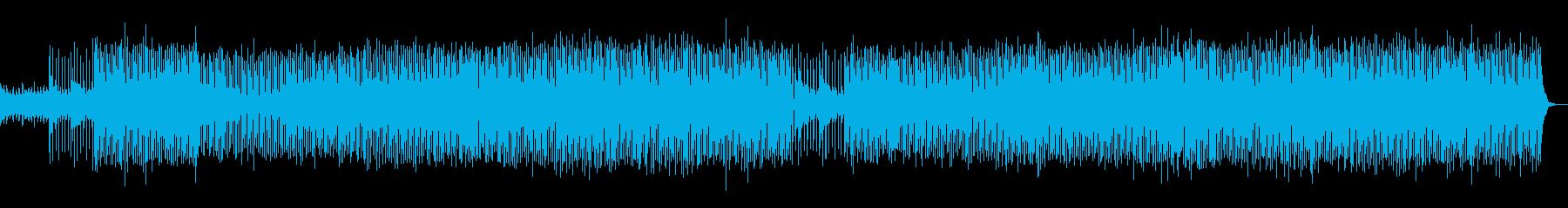 軽快アコースティックバンド・明るい・軽快の再生済みの波形