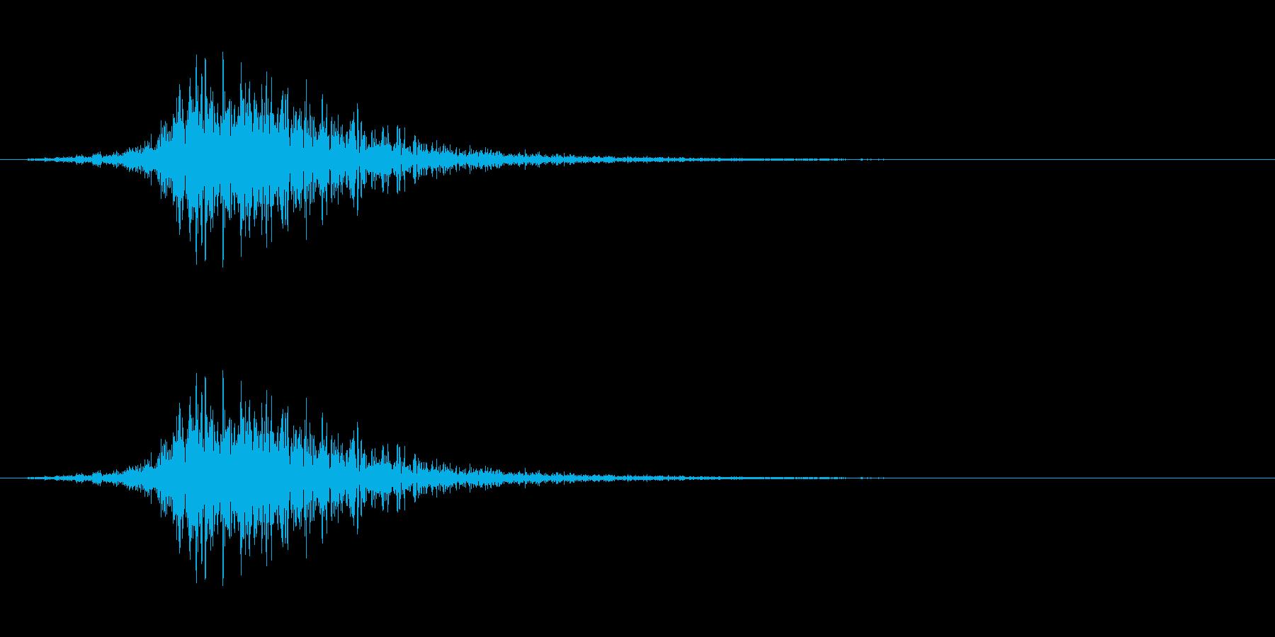 シューッという音EC02_62_2の再生済みの波形