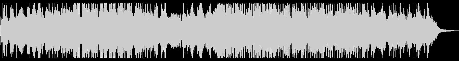 ピアノとバイオリンのアンビエントの未再生の波形