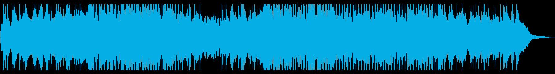 ピアノとバイオリンのアンビエントの再生済みの波形