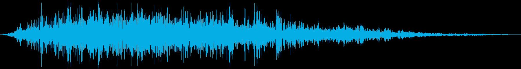 スパイラルフーシャバイの再生済みの波形