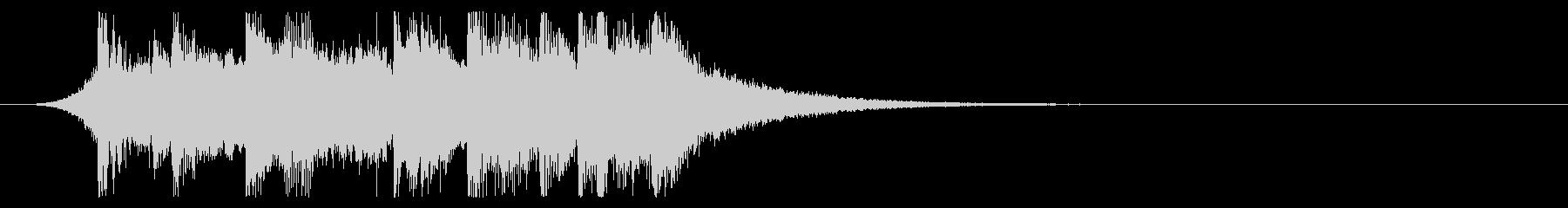 ポップ&キュートなエモいEDMジングル1の未再生の波形