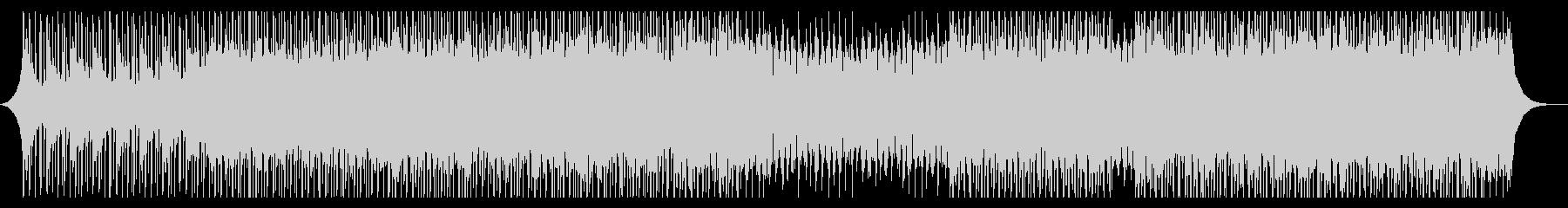 キョウイクの未再生の波形