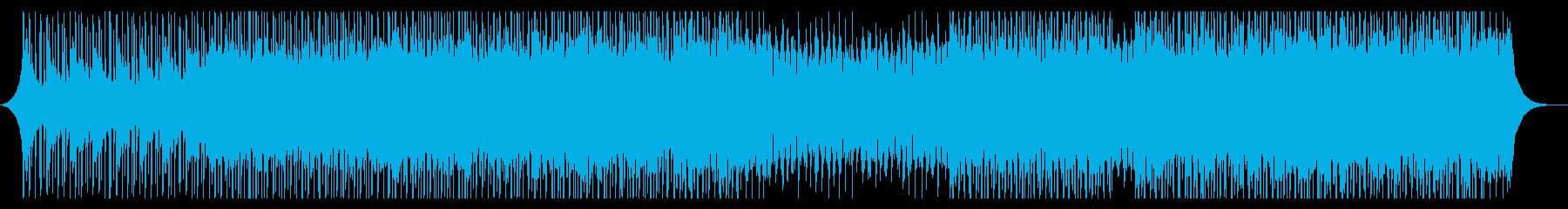 キョウイクの再生済みの波形