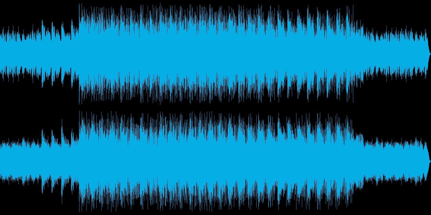 影絵プラハの幻想的な世界観のBGMの再生済みの波形