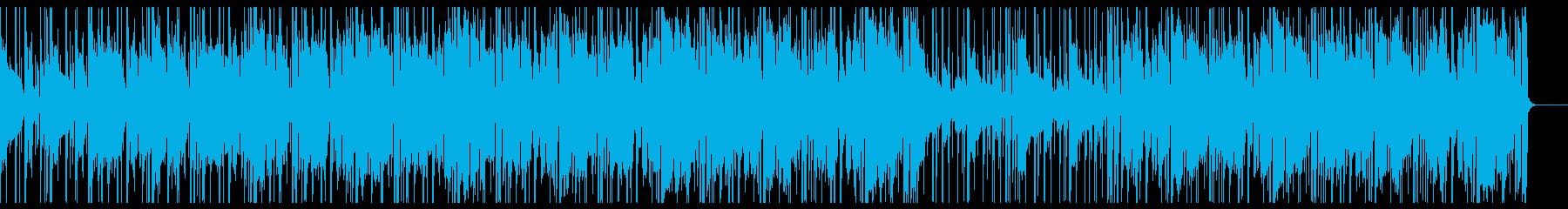 洗練された都会のネオン・大人お洒落な曲の再生済みの波形