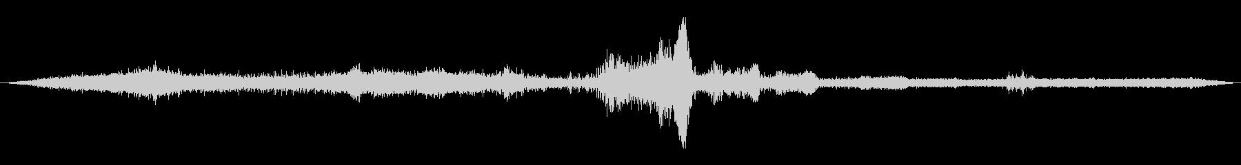 交差点の音1の未再生の波形