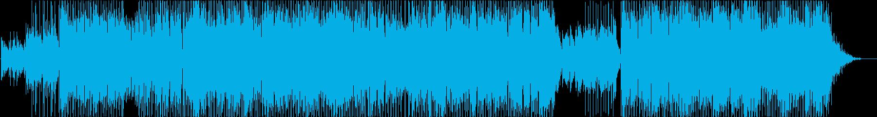 コーラス入りミドルテンポなフュージョンの再生済みの波形