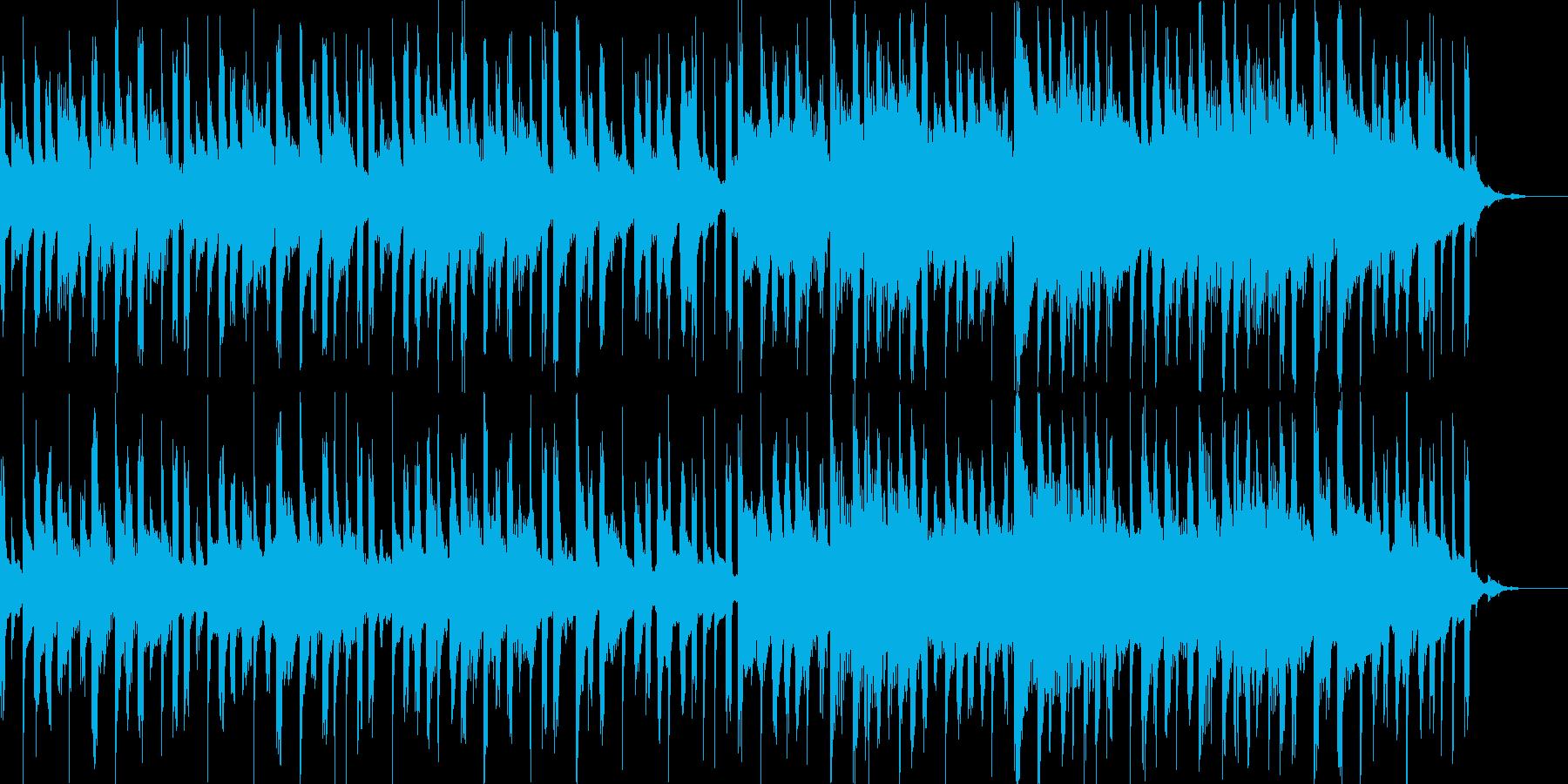 かわいい爽やかなオープニングBGMの再生済みの波形