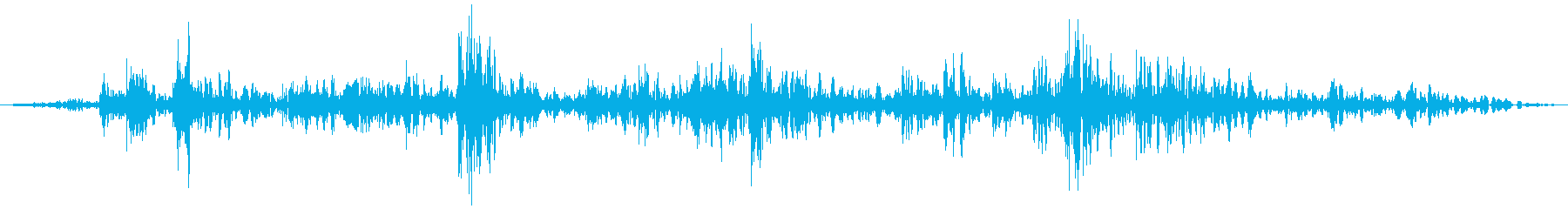 手動ウィンドウ:ロールウィンドウを開くの再生済みの波形
