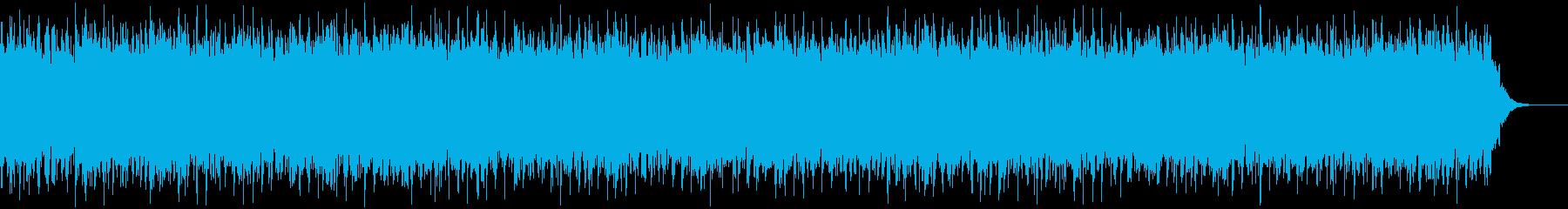 宇宙船バトルゲーム的なテクノEDM。の再生済みの波形