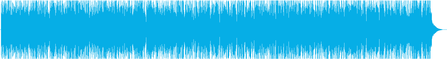 紹介映像に 爽やか軽快カントリーバラードの再生済みの波形