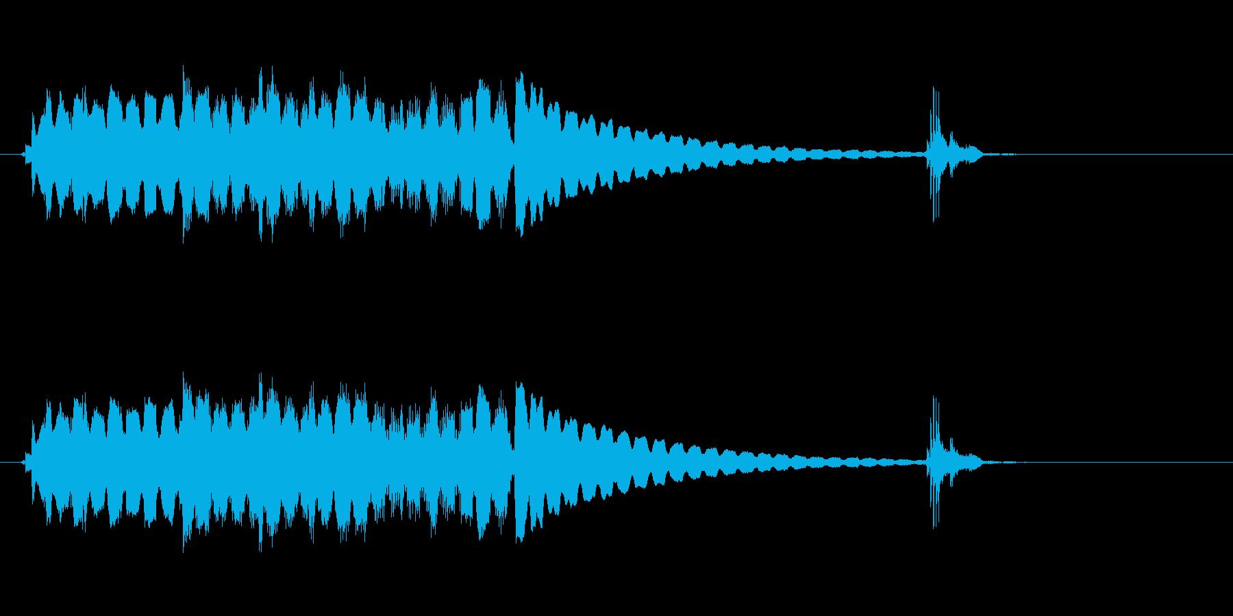 エレクトリックギター、ロックアルペ...の再生済みの波形