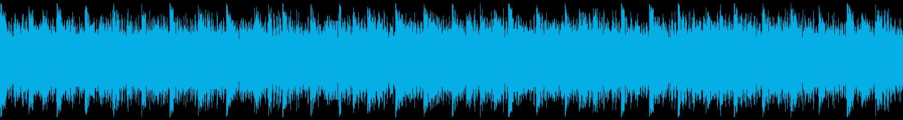 未来的で攻撃的なトラック-ループ2の再生済みの波形