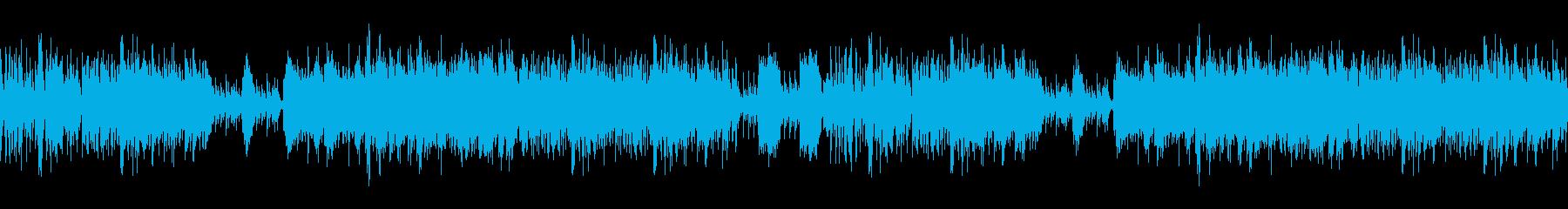 琴和太鼓ポップで和風楽曲ループ音源の再生済みの波形