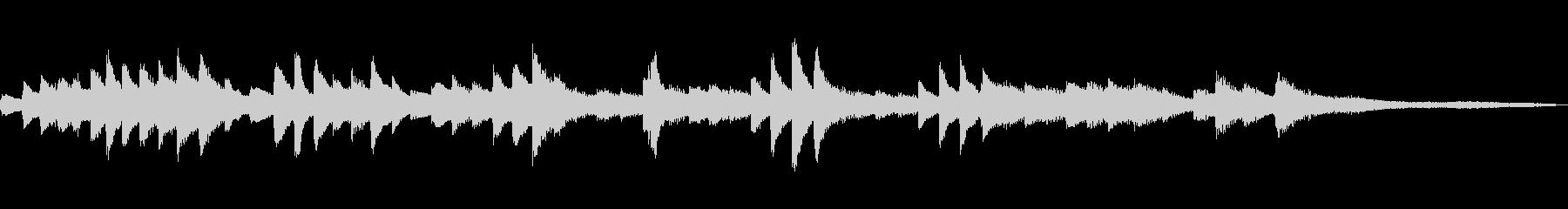 しっとりした和風ジングル46-ピアノソロの未再生の波形