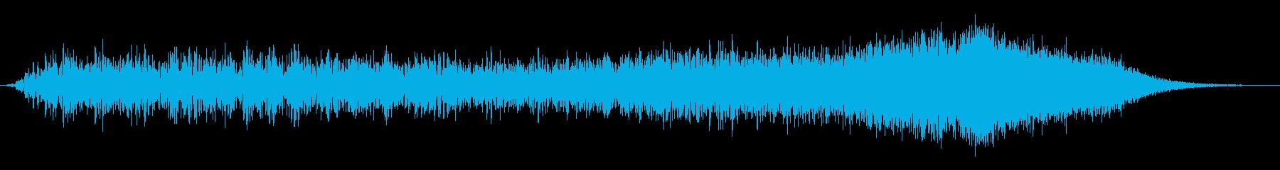 奇襲攻撃の再生済みの波形