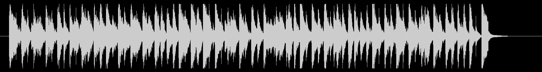 うきうきわくわくピアノポップの未再生の波形
