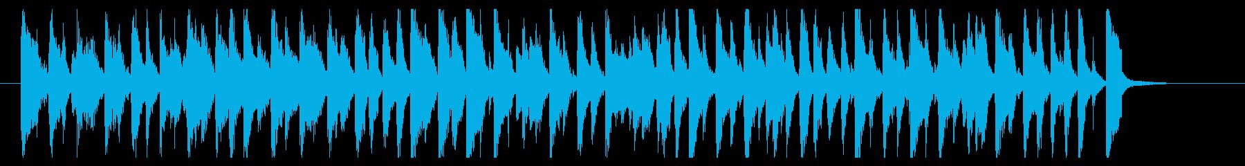 うきうきわくわくピアノポップの再生済みの波形