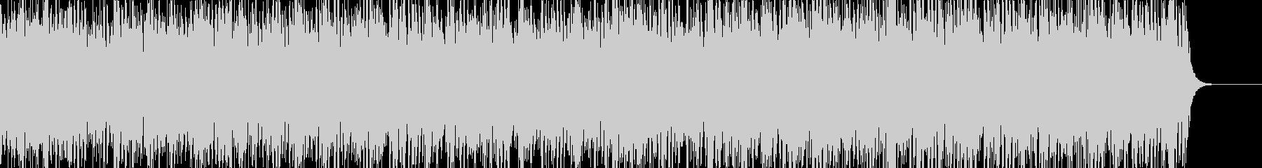 ノイジーでダークなアンビエントBGM5の未再生の波形