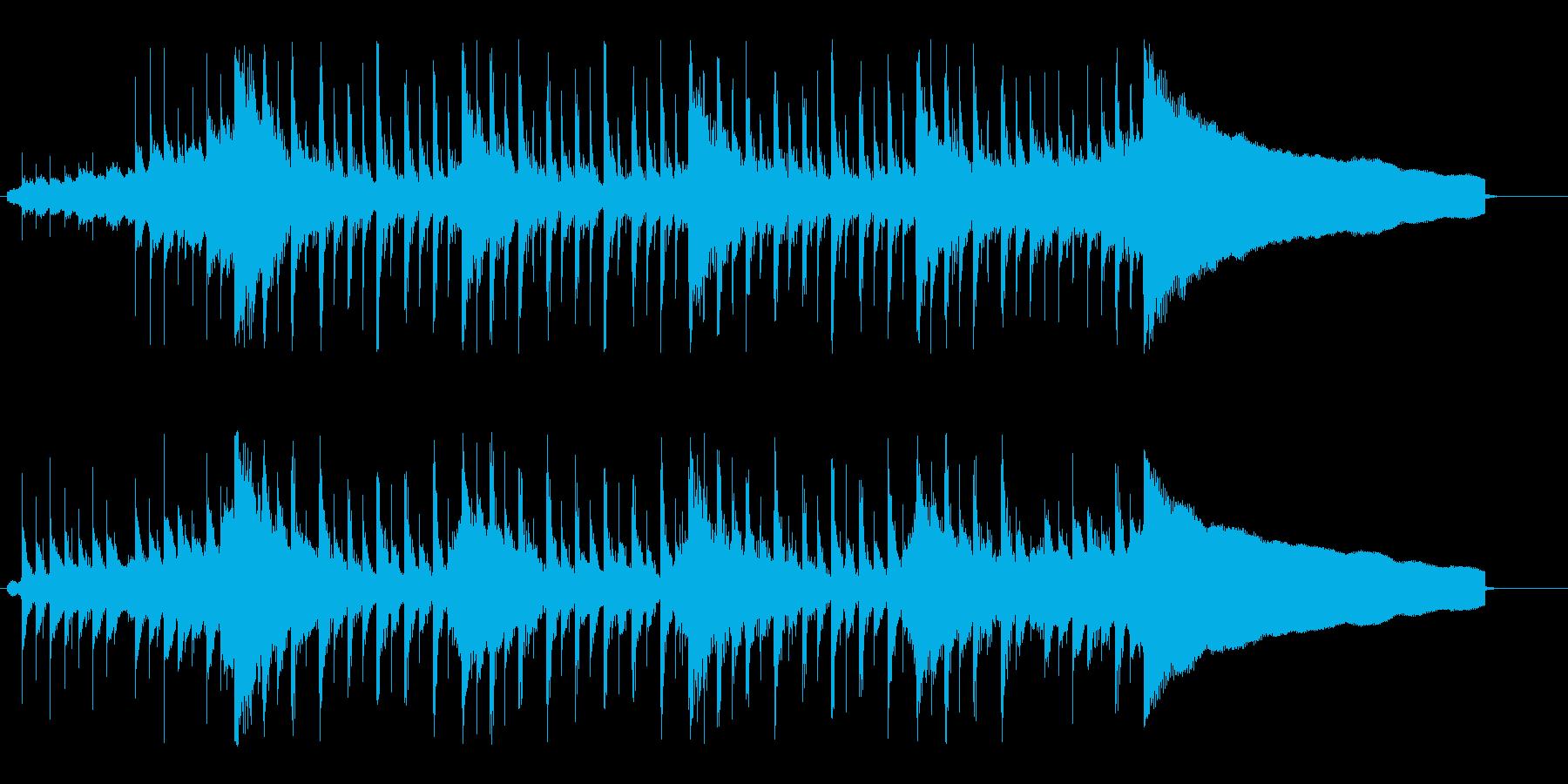 前向きで力強いコーポレートロックの再生済みの波形