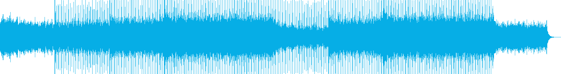 EDM club dance music-24's reproduced waveform