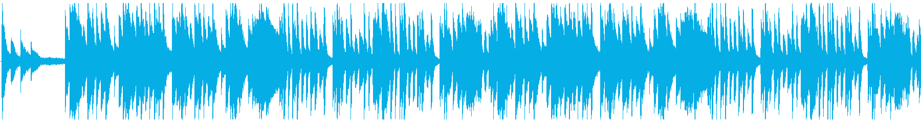 迷路のようなホラーっぽいピアノ曲/ゲームの再生済みの波形