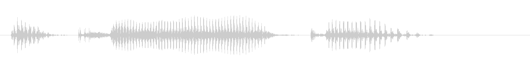 Okinawa Prefecture's unreproduced waveform