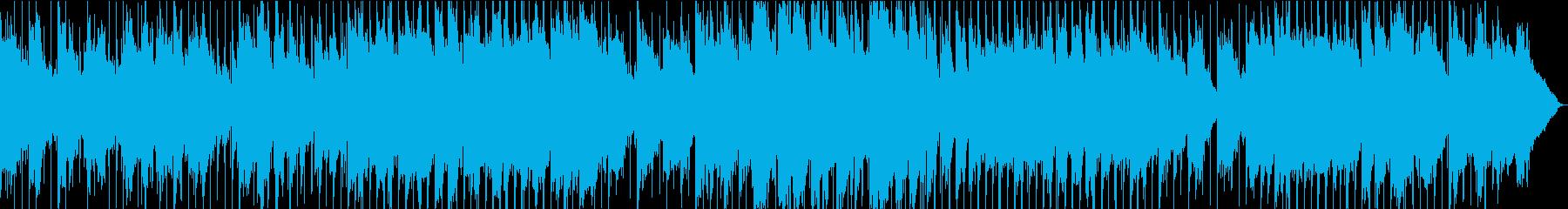 コーラスセクションで大きなオーケス...の再生済みの波形