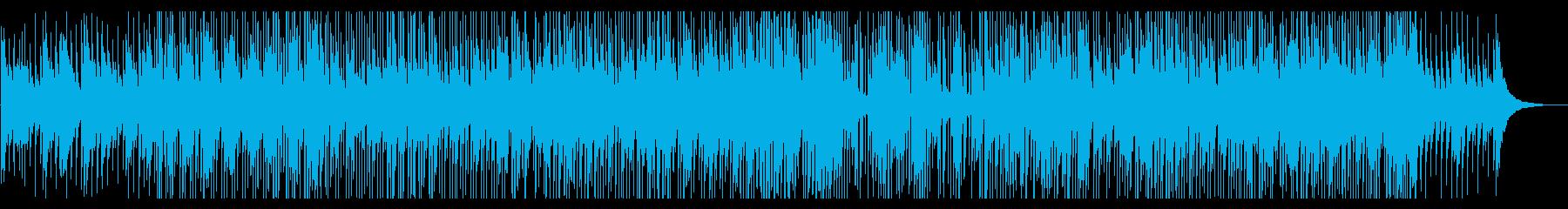 おしゃれほのぼの映像にかわいいポップの再生済みの波形