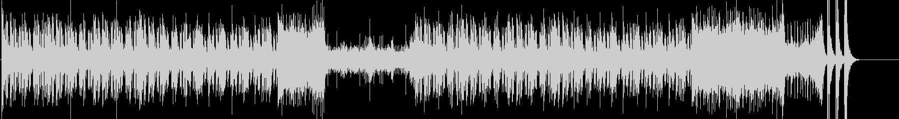 琴や笛の和楽器による和テイストのメロディの未再生の波形