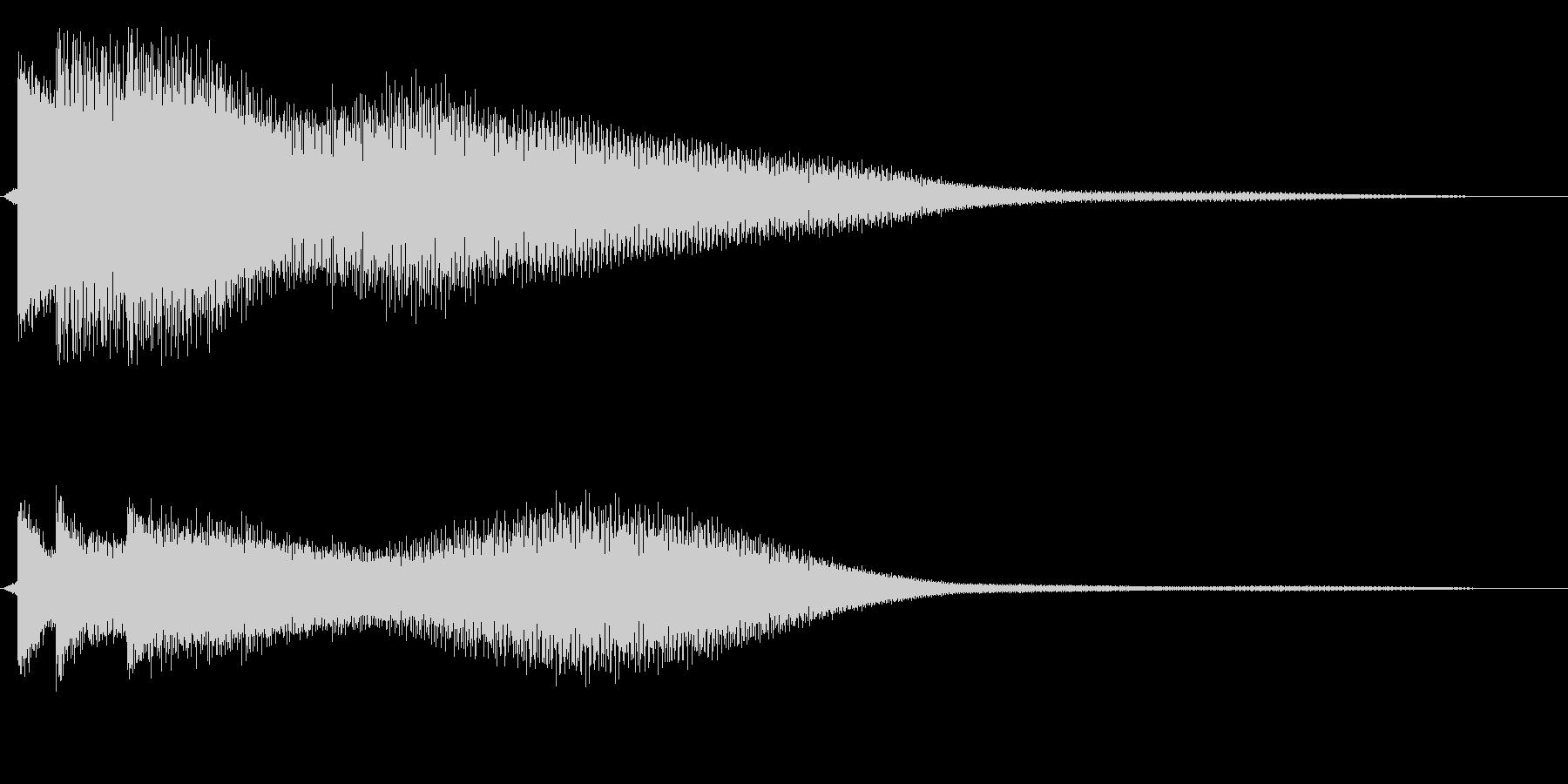 トゥルリーンの未再生の波形