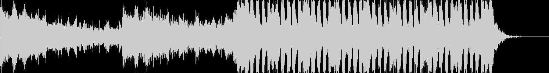 躍動的なストリングス 予告編音楽の未再生の波形