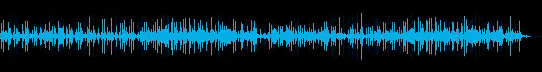 ピアノトリオによるジャズ風バラードの再生済みの波形