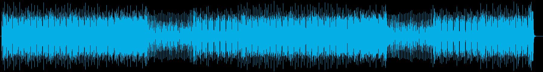 クールなシンセポップスの再生済みの波形