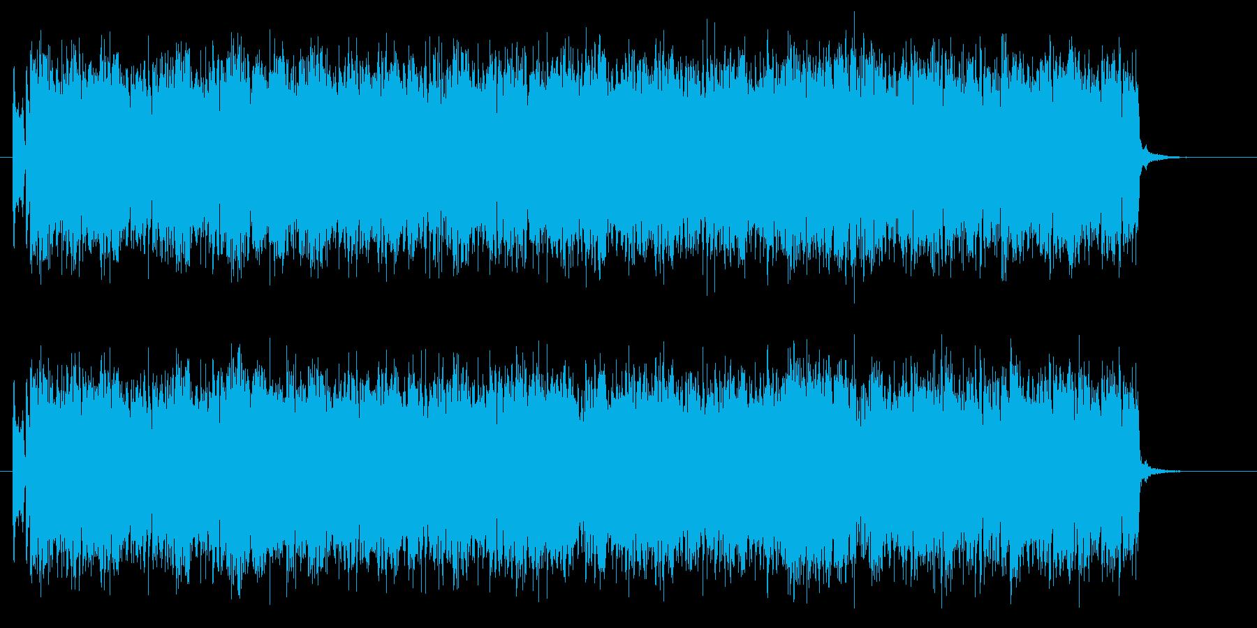 不思議でマイナーなシンセとエレキジングルの再生済みの波形