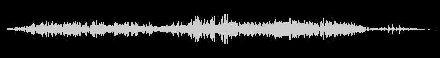 ゾンビ ヒューマンチェンジ03の未再生の波形
