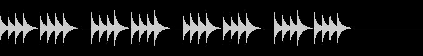 柔らかいコール音07の未再生の波形