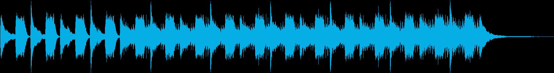 忍び込むシーン/ホラー寄りの再生済みの波形