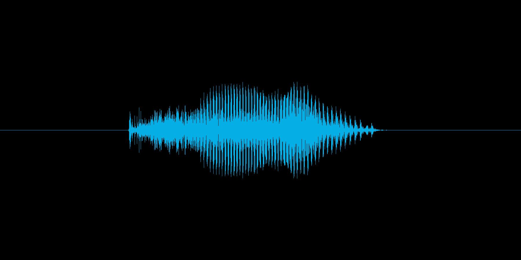 9(数字、男の子、少年)の再生済みの波形