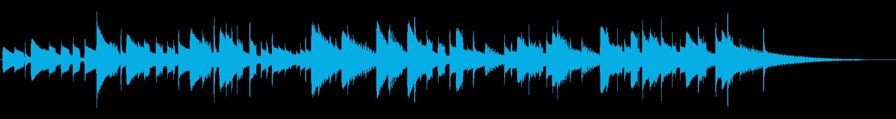 カリンバ:ショートチューン、音楽テ...の再生済みの波形