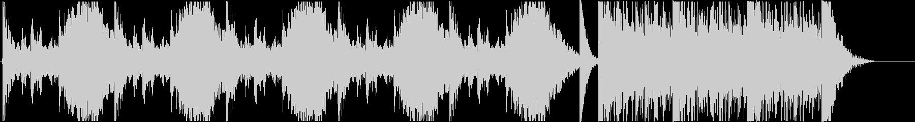 打楽器中心のトレーラーAの未再生の波形