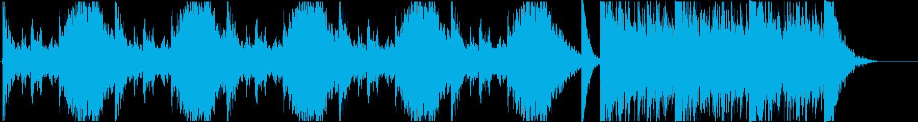 打楽器中心のトレーラーAの再生済みの波形