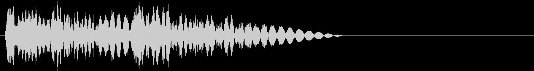ビシバシッ(攻撃・打撃)の未再生の波形