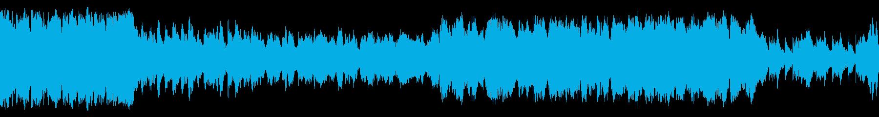 吹奏楽、マーチ(行進曲)、華やかな式典Bの再生済みの波形