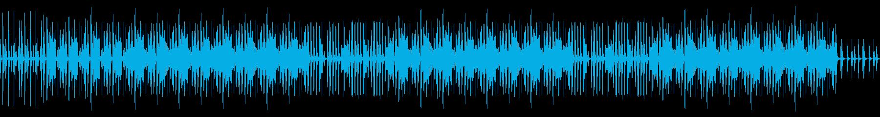 わくわく楽しいYouTubeオープニングの再生済みの波形